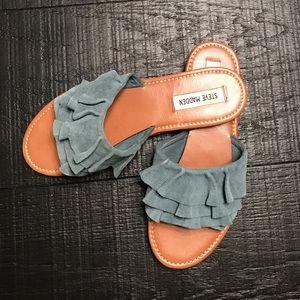 Steve Madden Ruffle Sandals